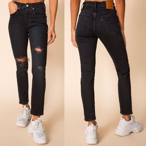 Levi's 501 Skinny Jeans in Wild Bunch NWT
